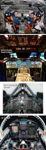 NASA Space Shuttle SR-71 Blackbird U2 Cockpit Designs