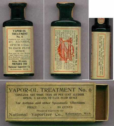 Opium treatment for Asthma