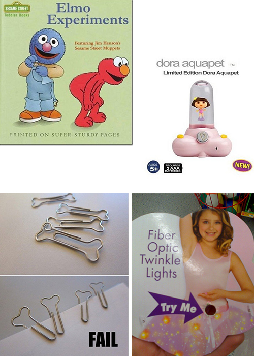 Toy Packaging and Design Fails