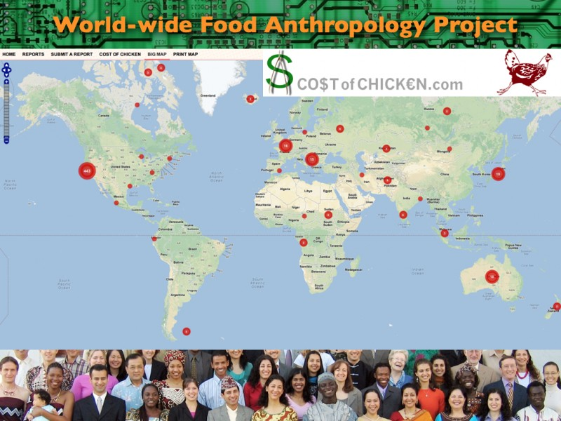 2013 Think Tank Presentation on Socio-Technical System Design: Cost of Chicken CrowdMap