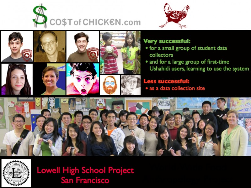2013 Think Tank Presentation on Socio-Technical System Design: Cost of Chicken Project