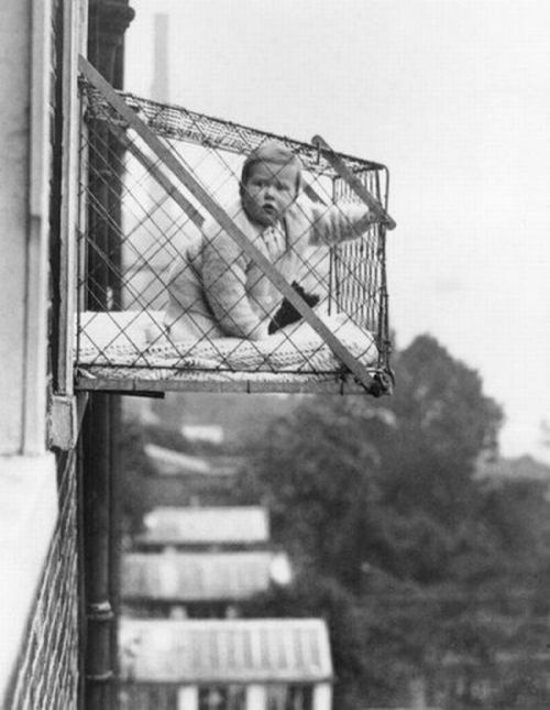 Baby Fresh Air Cage for High-rise Apartment Buildings