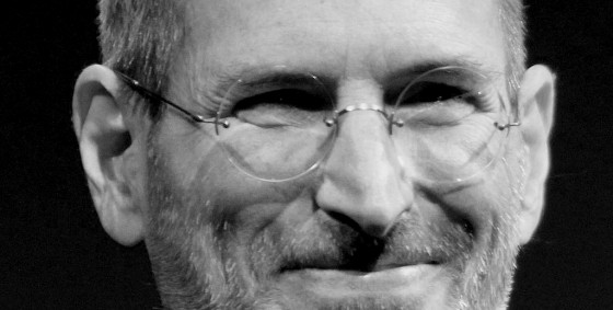 Steve Jobs Wikipedia cropped B&W