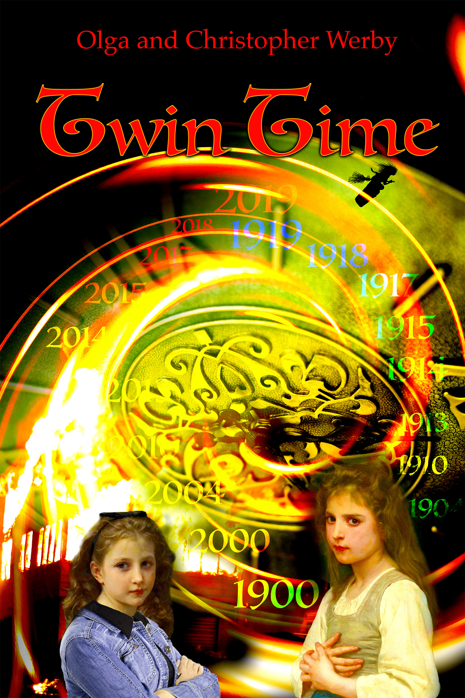 Twin Time Cover Art