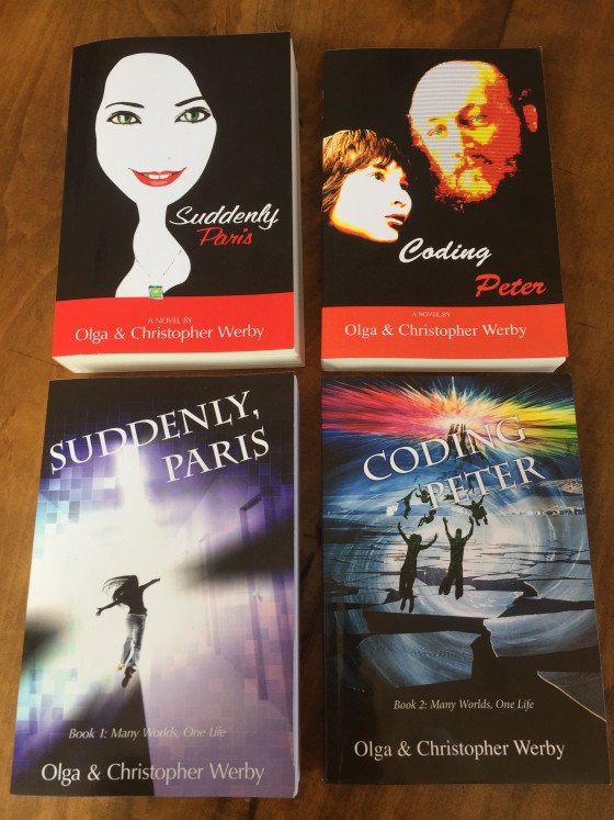 Coding Peter Suddenly Paris 2 Covers