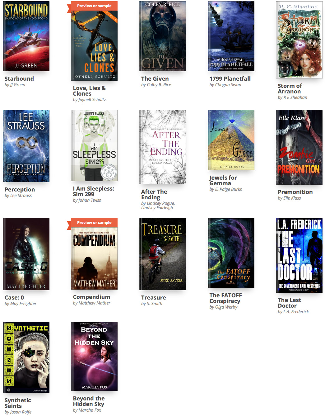Limitless Worlds Science Fiction eBooks