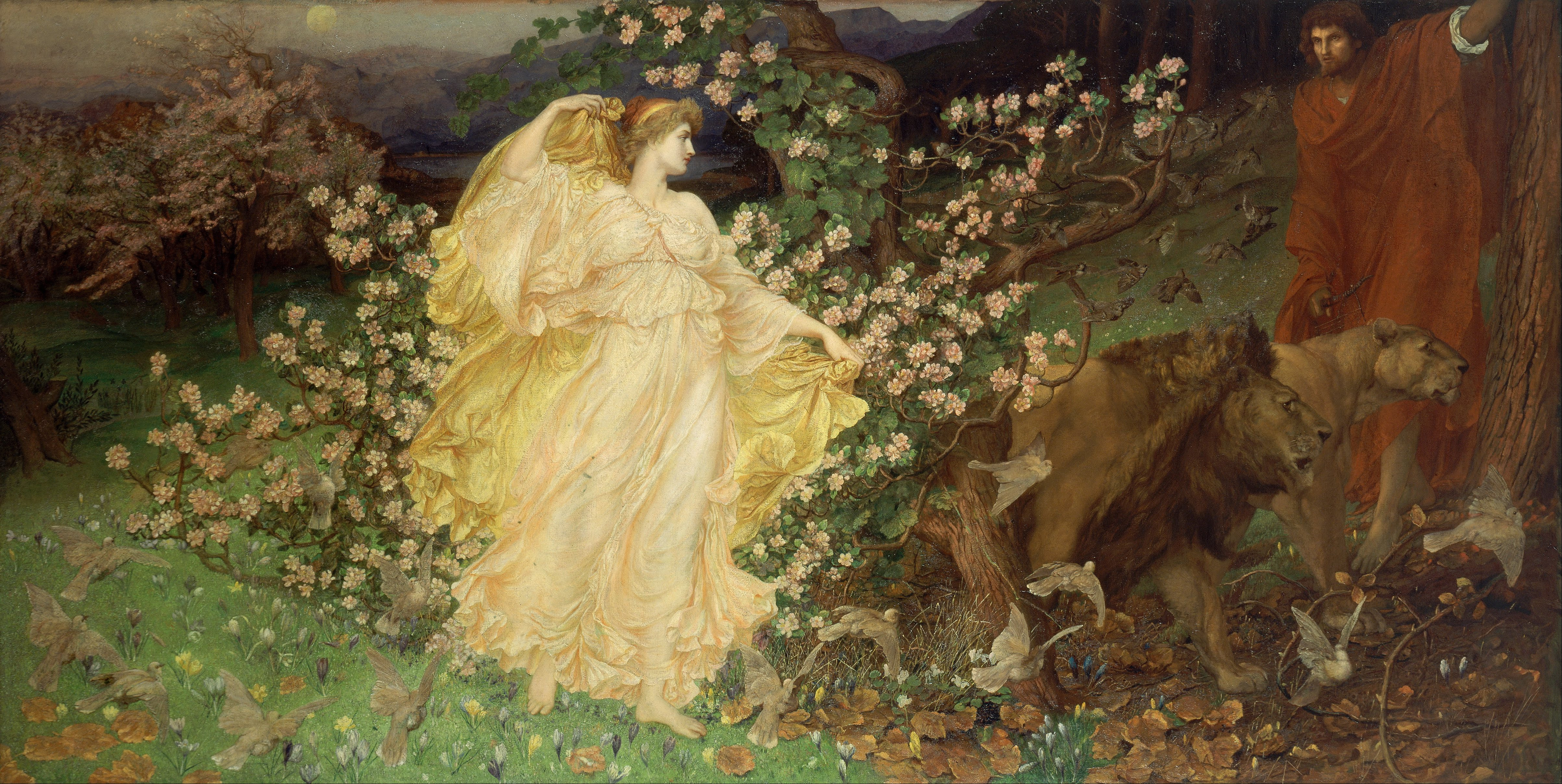 "William Blake Richmond ""Venus and Anchises"""