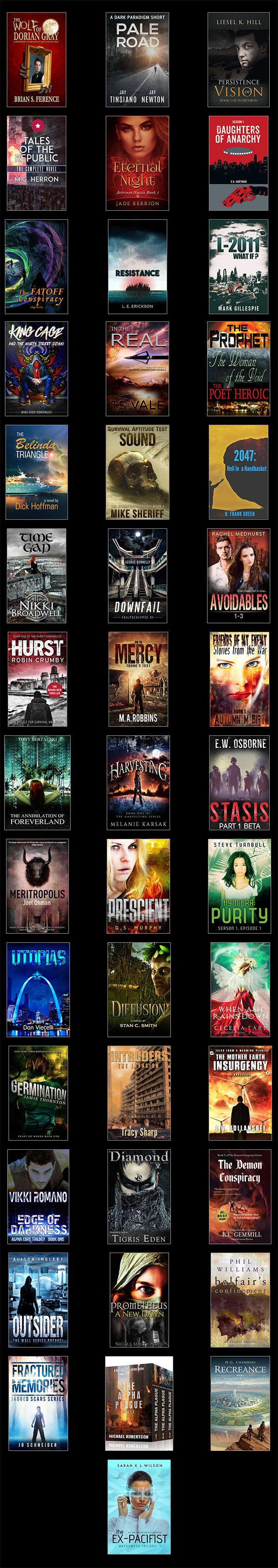 2018 Dystopian Giveaway