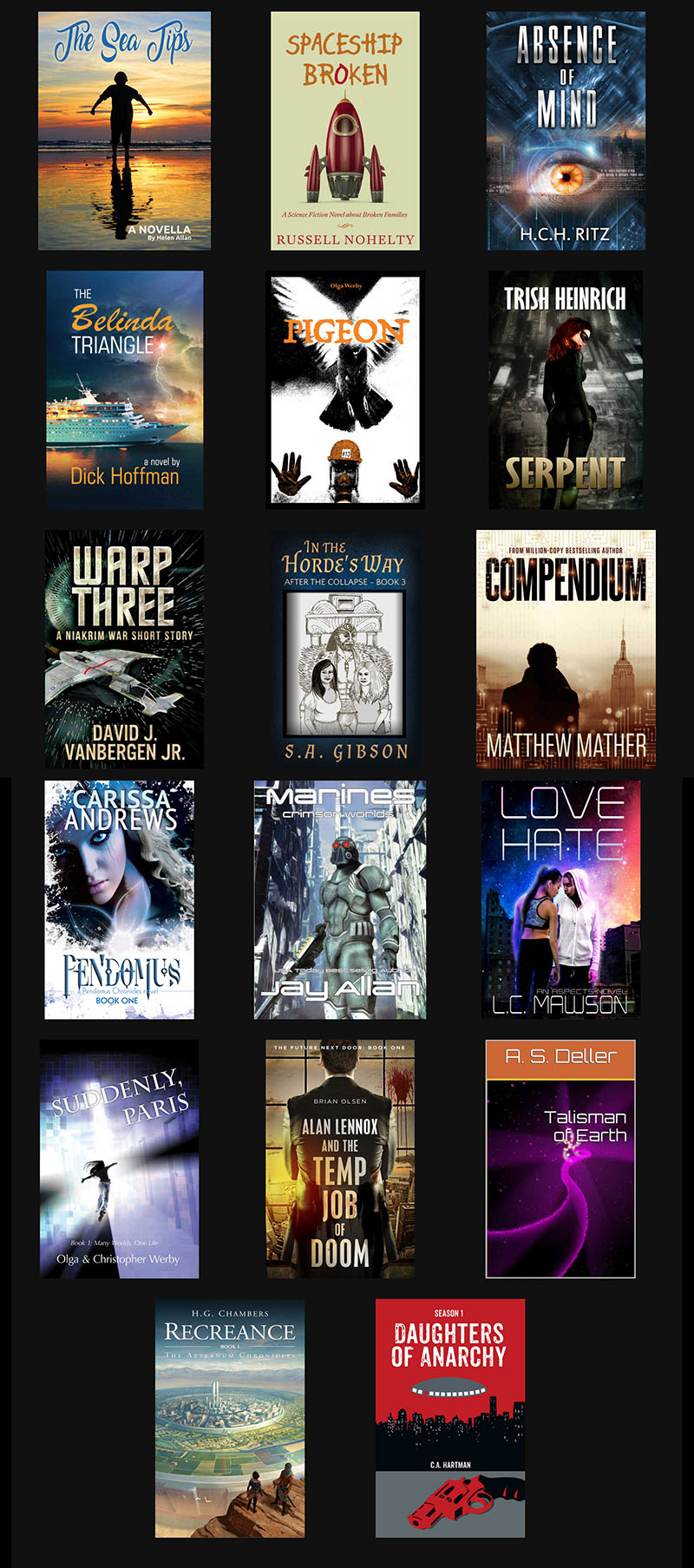 2017 SciFi Fall Promotion