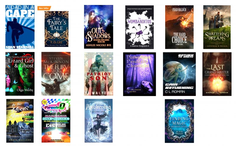 2018-11-12 SciFi Indie Books