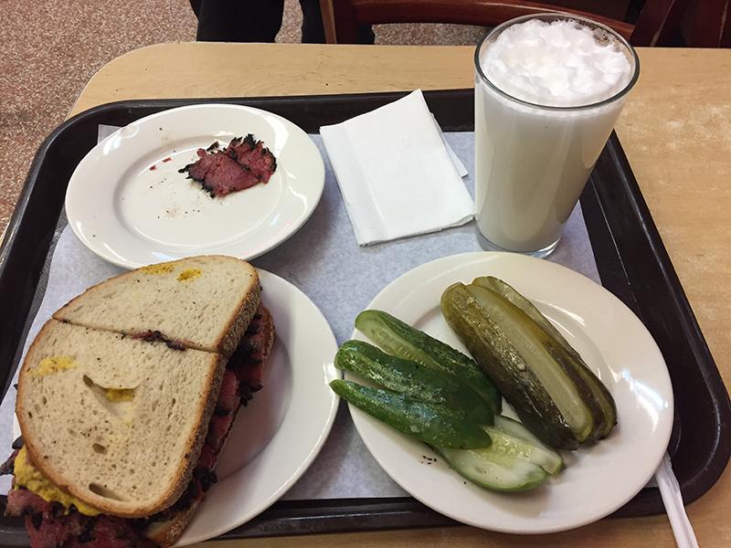 Pastrami Sandwich