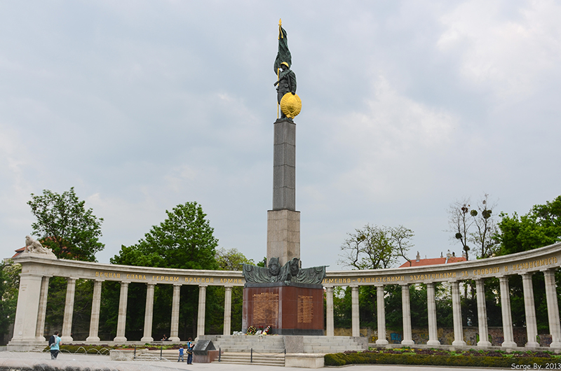 Soviet War Memorial in Vienna