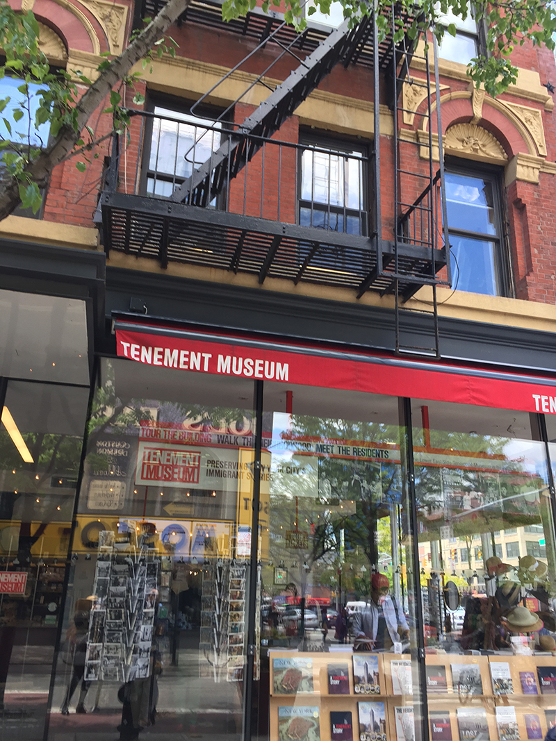 Tenement Museum NYC 2019