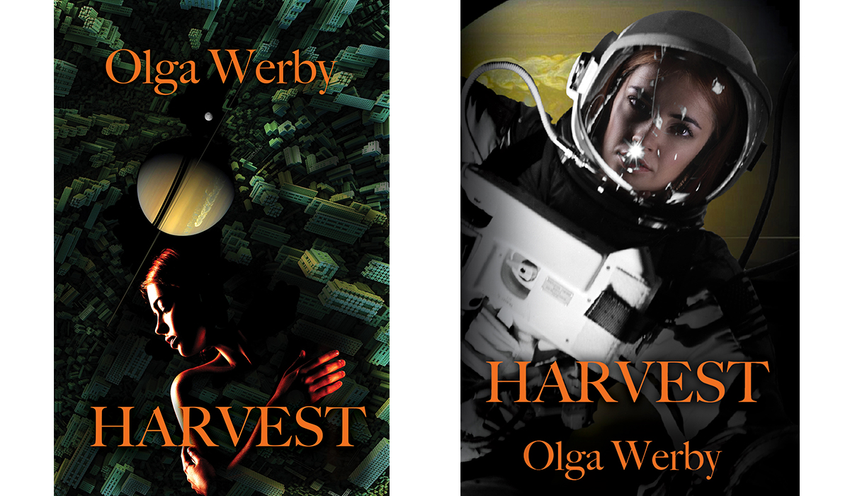 2 cover comparison of Harvest