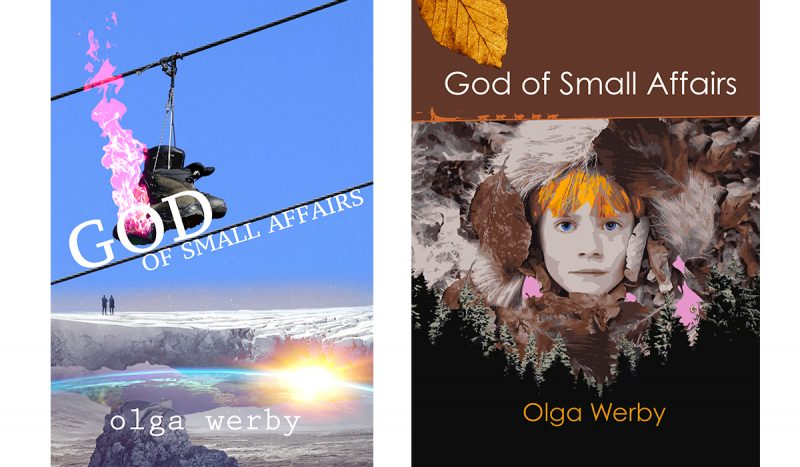 2 covers of God of Small Affairs comparison