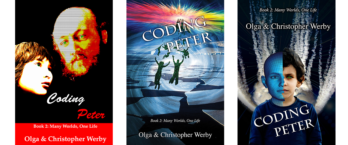 3 covers for Coding Peter
