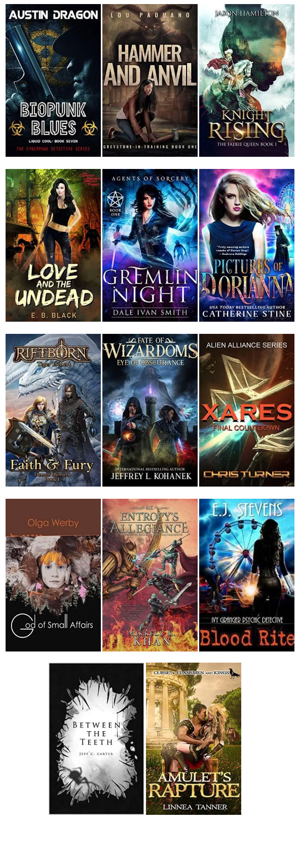 2019-10 New Scifi Book Releases