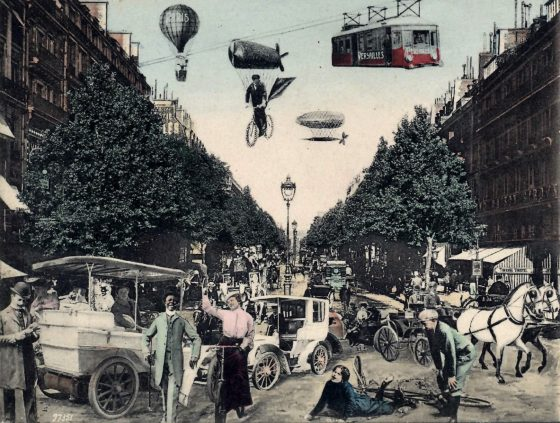 Paris in the future from 1905