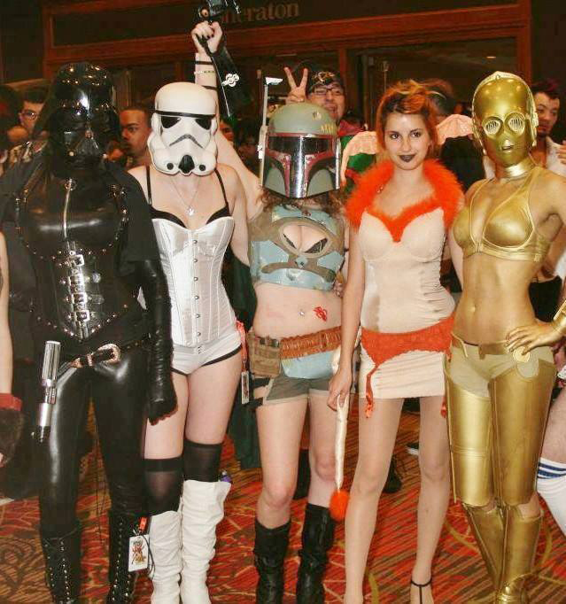 Women's SciFi Convention Costumes