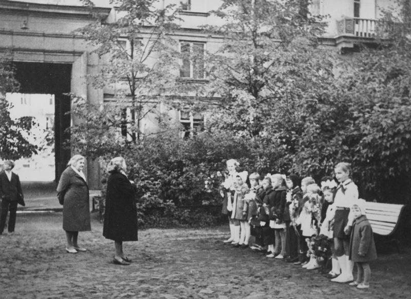 Dvor September 1 1972, first day of first grade