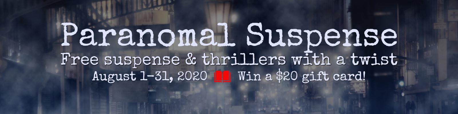 Paranormal Suspense banner