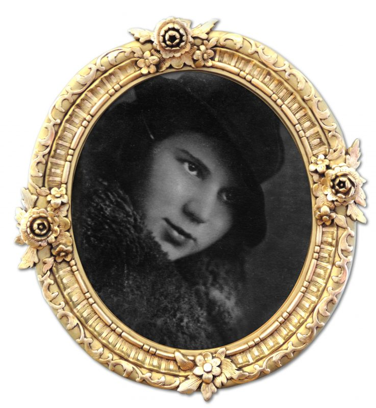 1934 Nadejda Kiselev in a Hat