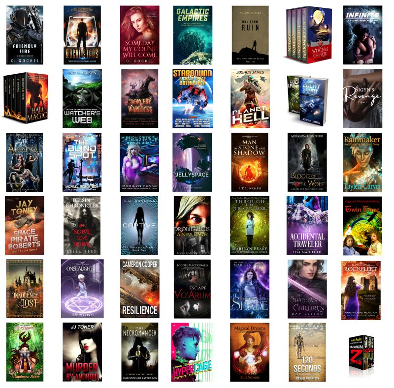 2020 October Free Sci-fi and Fantasy eBooks