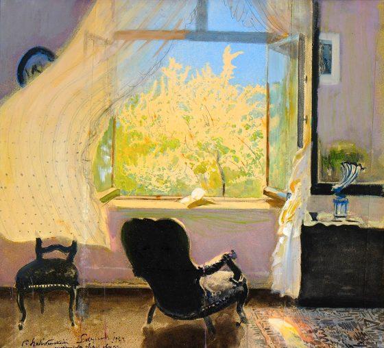 Spring in Goscieradz by Leon Wyczółkowski 1933