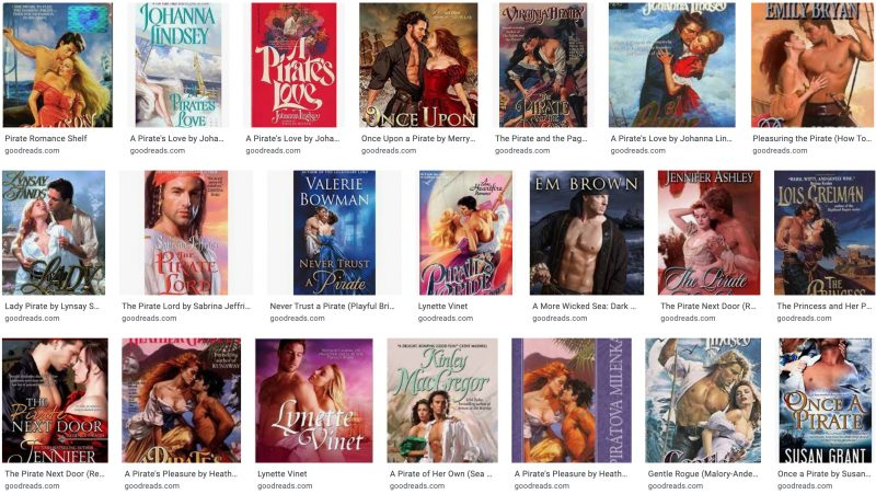 Pirate Romances on Goodreads